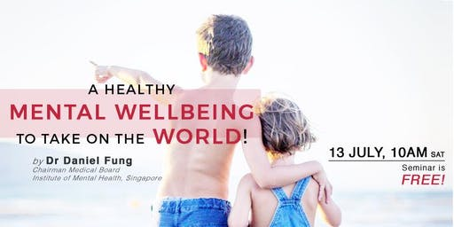 A Healthy Mental Wellbeing To Take On The World