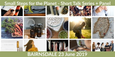 Small Steps for the Planet - Talk Series tickets