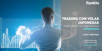 Análisis técnico con velas japonesas para hacer trading y operar en bolsa