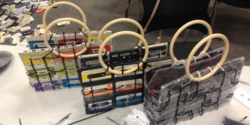 Upcycle it! Cassettes Craft - School Holidays Program - Campbelltown Library