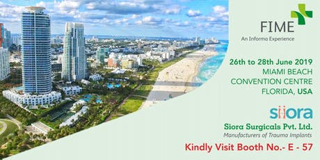 Fime Show - Florida International Medical Exhibition 2019 tickets