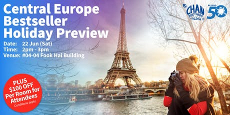 Central Europe Bestseller Holiday Preview tickets