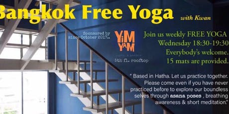 FREE YOGA WEDNESDAY tickets
