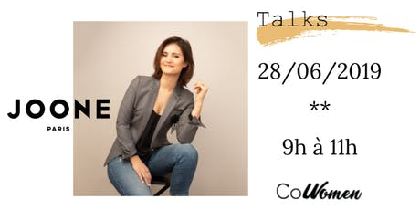 Let's Talk #11 : Co-Women reçoit Carole Juge Llewelyn  billets