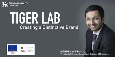 Tiger Lab: Creating a Distinctive Brand tickets