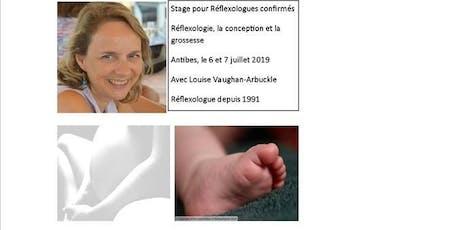 Réflexologie, la fertilité et la grossesse pour réflexologues pro billets