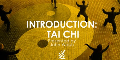 2 week introduction to Tai Chi tickets