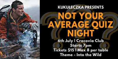 Not Your Average Quiz Night - Into the Wild