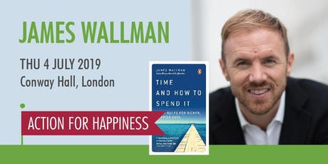 How to use time wisely and live more happily - with James Wallman tickets