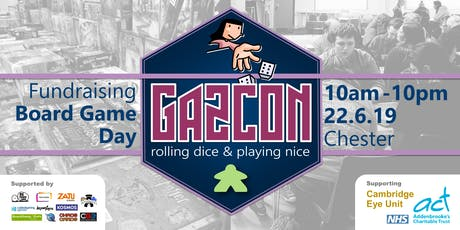 GAZCON 2019 - Fundraising Board Game Day tickets