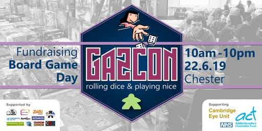 GAZCON 2019 - Fundraising Board Game Day