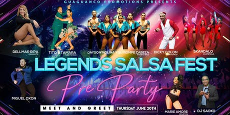 Legends Salsa Fest Pre-Party & Free Salsa Lesson at 9:30PM tickets