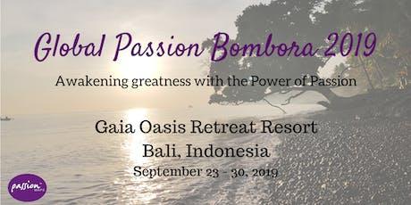 Global Passion Bombora Retreat 2019 tickets