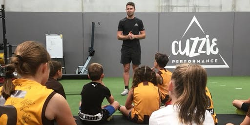 AFL SCHOOL HOLIDAY CLINIC WITH LIAM SHIELS