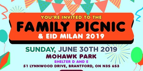 ICNA CKW-Family Picnic and EID MILAN 2019 tickets