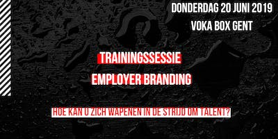 Trainingssessie employer branding