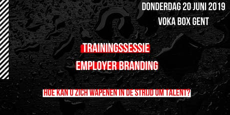 Trainingssessie employer branding tickets