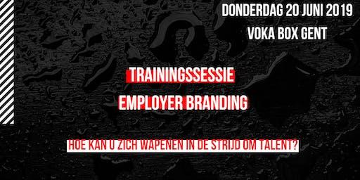 Trainingssessie employer branding