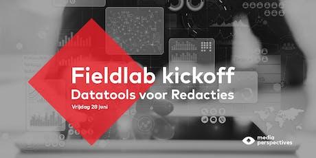 Kickoff fieldlab Datatools voor Redacties tickets