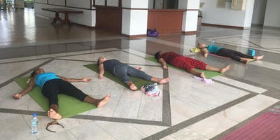 Join Private Group Yoga class.
