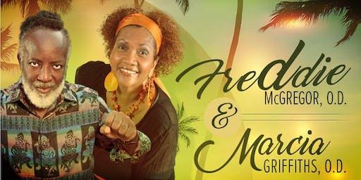 Freddie McGregor, O.D. and Marcia Griffiths, O.D.