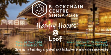 Blockchain Centre Singapore Happy Hours @Loof tickets