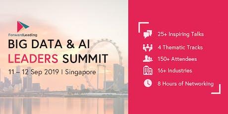 Big Data & AI Leaders Summit Singapore 2019 tickets