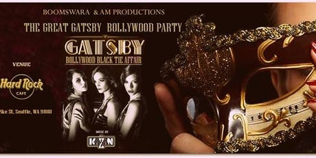 The Great Gatsby Bollywood Party - A Black Tie Affair tickets