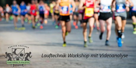 Lauftechnik Workshop mit Lauftechnik-Videoanalyse Tickets