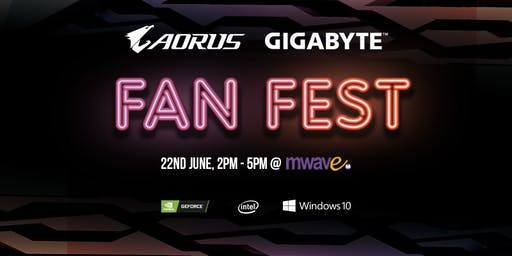 AORUS Fan Fest @ MWAVE