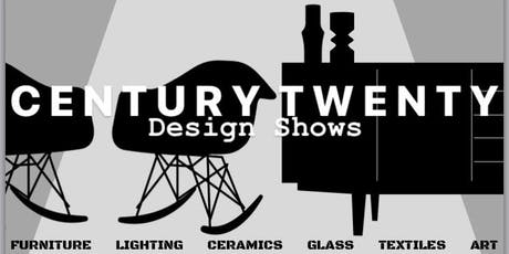 Century Twenty Design Shows - Midcentury Modern Furniture and Homeware Fair tickets