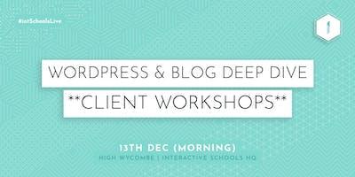 Wordpress & Blog Deep Dive (Client-Exclusive) - MORNING
