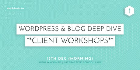 Introduction to Blogging (Client-Exclusive) - MORNING tickets