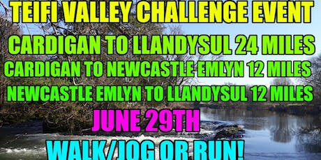 Teifi Valley Challenge 24 Mile + 12 Mile Walk/Jog or Run tickets