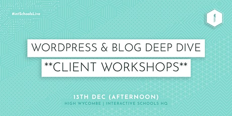 Introduction to Blogging (Client-Exclusive) - AFTERNOON tickets