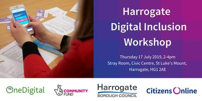 Harrogate Digital Inclusion Interactive Workshop