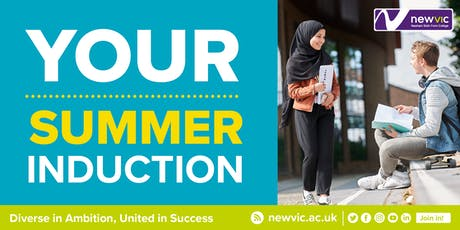 Vocational Summer Induction 2019 tickets