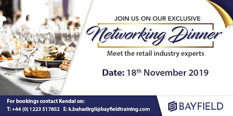 Retail Networking Dinner - Bayfield Training tickets