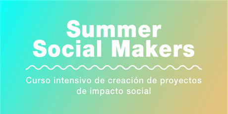 Curso de Verano de Proyectos de Innovación Social entradas