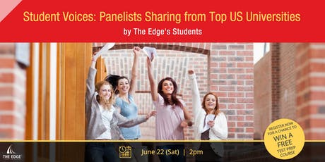 Student Voices: Panelists Sharing from Top US Universities tickets