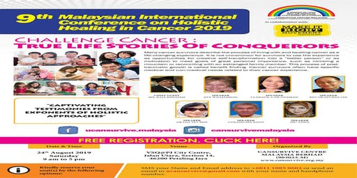 9th Malaysian International Conference - Challenge Cancer : True Life Stories Of Conquerors