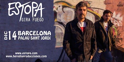 ESTOPA presenta GIRA FUEGO en Barcelona