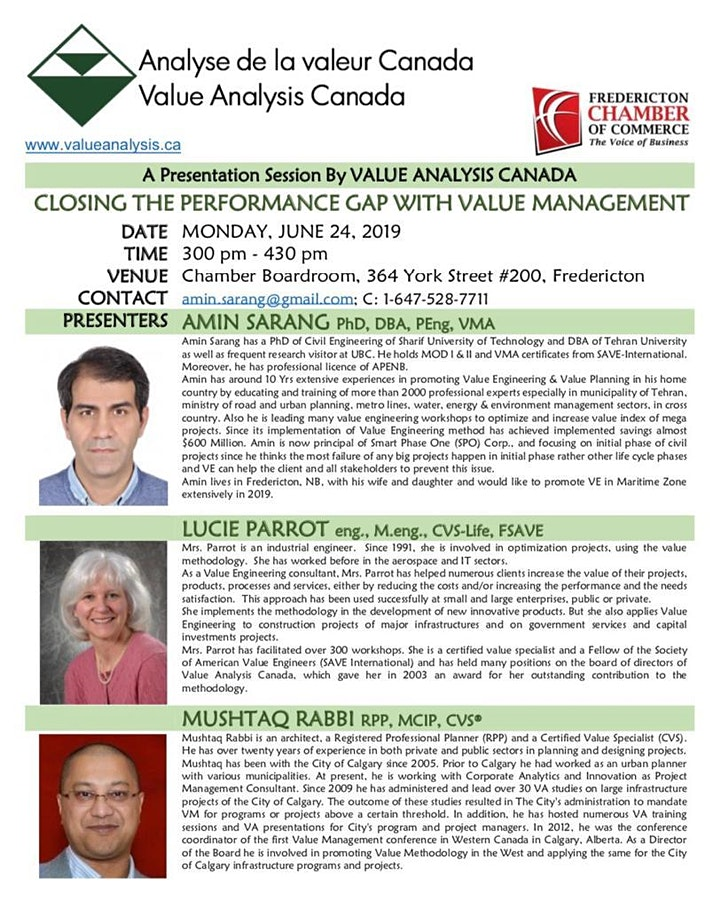 Closing the Performance Gap with Value Management image