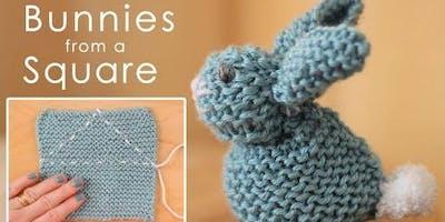 Knit & Natter Easter Bunny