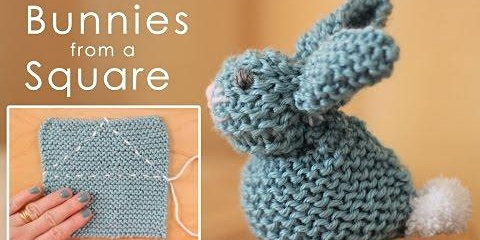 Knit an Easter Bunny