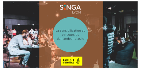 Sensibilisation au parcours du demandeur d'asile - Amnesty & SINGA - 17 juin 2019 billets