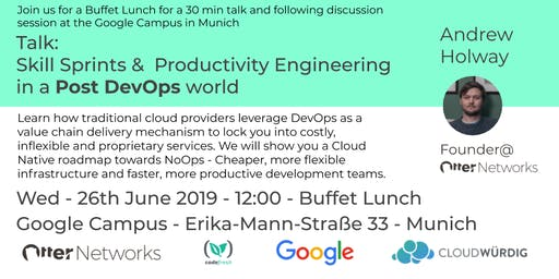 Skill Sprints &  Productivity Engineering in a Post DevOps world