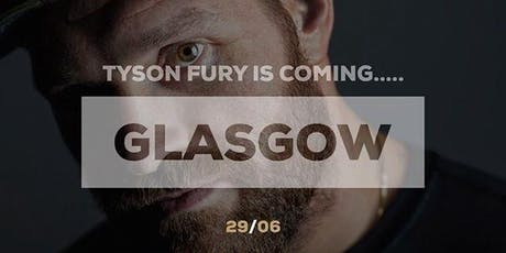 An Evening with Tyson Fury tickets