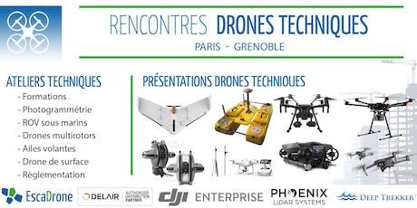 Escadrone à Paris - drones techniques : outils, enjeux et utilisations billets