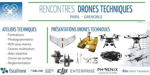 Escadrone à Paris - drones techniques : outils, enjeux et utilisations
